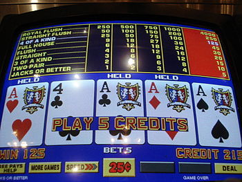 online casino video poker crazyslots