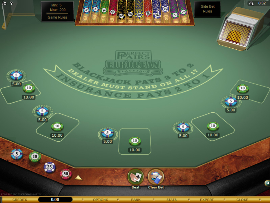 Spiele Blackjack With Perfect Pairs - Video Slots Online