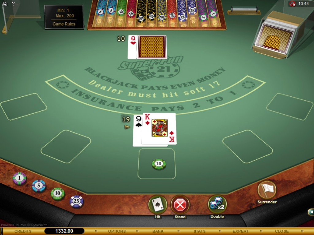 Online Black Jack For Fun