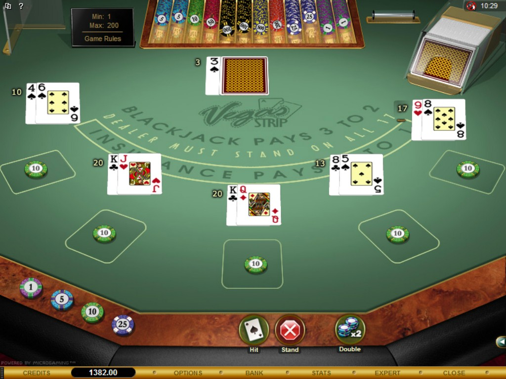 Strip Blackjack Online Gratis