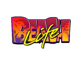 beach life slot logo