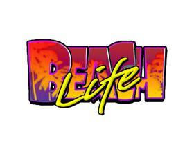 beach life slot logo