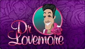 dr lovemore slot logo
