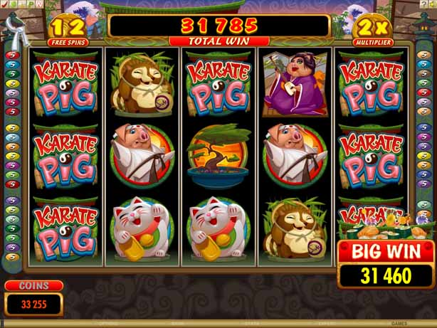 Karate Pig Online Slot for Real Money - Rizk Casino