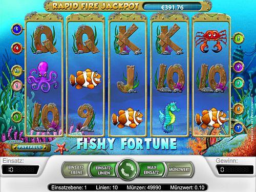 fishy fortune screen