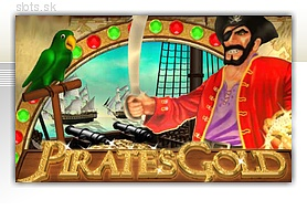 pirate's gold slot logo