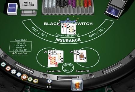 blackjack switch