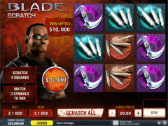 blade scratchcard