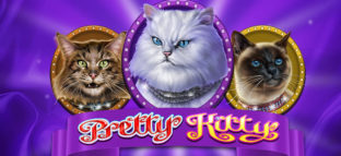 pretty kitty slot logo