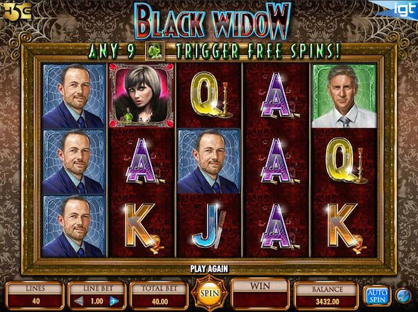 Black Widow Casino Game