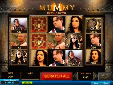 the mummy scratchard