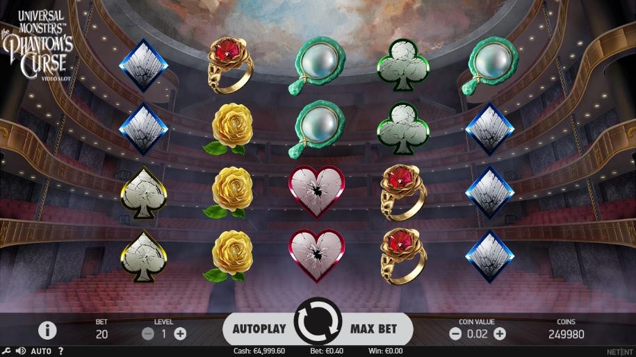 NetEnt Casinos New Universal Monsters™: PhantomS Curse Slot